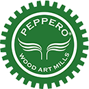 Peppero Wood Art Mills